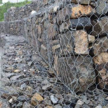 Wire for Gabions Protect Environment